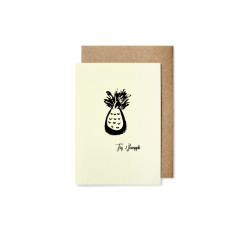 Pineapple greeting cards (pack of 5)