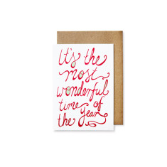 It's the most wonderful Christmas cards (pack of 5)