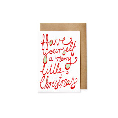 Have yourself a merry little Christmas cards (pack of 5)