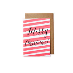 Candy stripes Christmas cards (pack of 5)