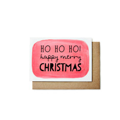 Ho ho ho Christmas cards (pack of 5)