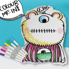 Colour me in blue monster softie