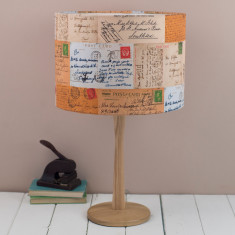 Postcards Lampshade