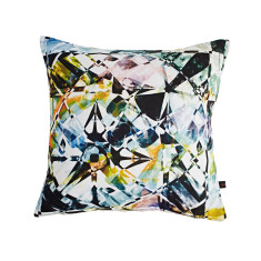 Fractured crystal cushion cover