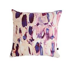 Nocturne plum cushion cover