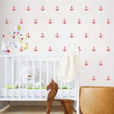 Anchors wall decal (various colours)