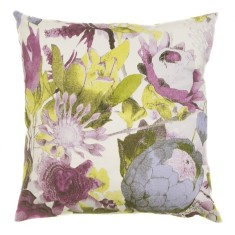 Anemone cushion cover Lilac