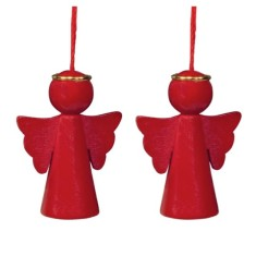 Angel hanging decoration (2-pack)