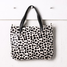 Angela handbag in spotted hide