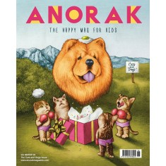 Anorak kids' magazine subscription (quarterly for one year)
