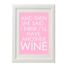 Another wine print
