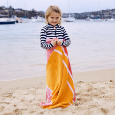 Brooke Kids' Towel with hidden zip pocket