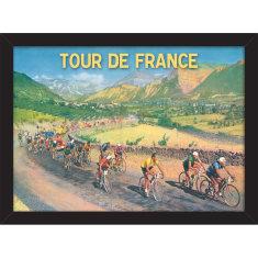 Tour de France Scenery Print