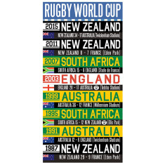 Rugby world cup canvas