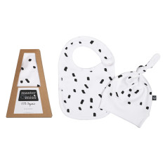 The Baby Hat & Bib Gift Set 100% Organic