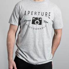 Aperture organic cotton t-shirt