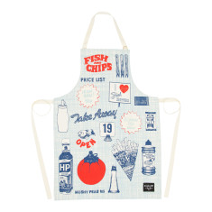 Fish & chips apron