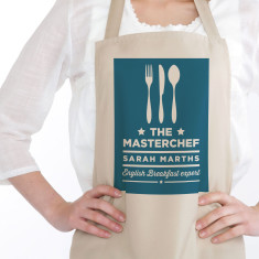 Personalised Masterchef apron