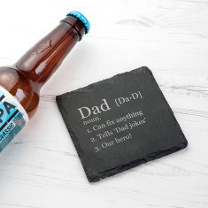 Definition of... Square Slate Keepsake