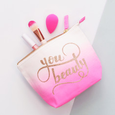 You Beauty Ombre Makeup Bag