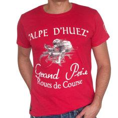 Alpe d Huez men's t-shirt