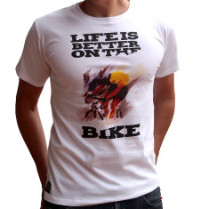Life is better on the bike cycling t-shirt