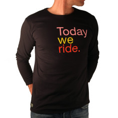 Today we ride men's long sleeve t shirt