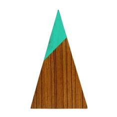 Aqua triangle magnet