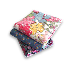 Liberty Flowers Hankie Bundle of 3