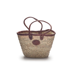 Large rustic weave basket