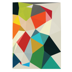 Ardeche geometric art print