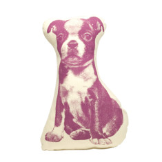 Areaware pico terrier fauna cushion in purple