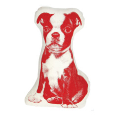 Areaware fauna boston terrier cushion