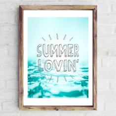 Summer lovin print