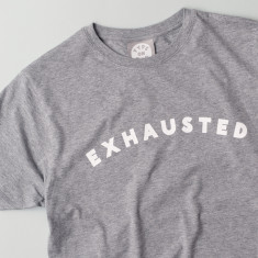 Exhausted Men's T Shirt