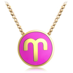 Zodiac Aries necklace