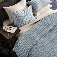Arrowed duvet cover