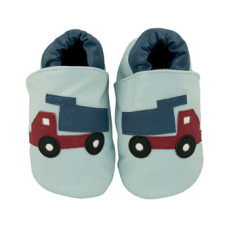 Dumper truck baby shoes