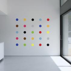 Art Deco spots wall stickers