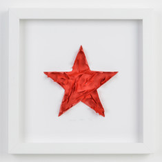 Super star framed artwork
