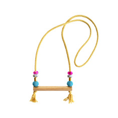 Aruba necklace in yellow