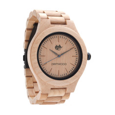 Driftwood Maple Wood Watch