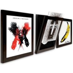 Art Vinyl play & display flip frame triple pack