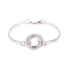 Sterling Silver Helix Bracelet
