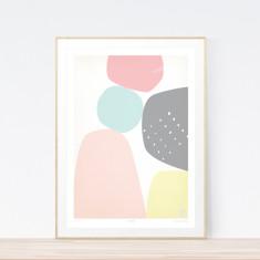Rocksalt art print