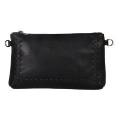 Zoe Black Clutch Bag