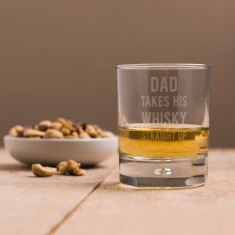 Personalised Takes Their Whisky Glass