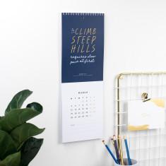 Shakespeare Wall Calendar 2018