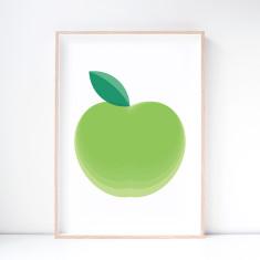 Mutsu Apple Art Print