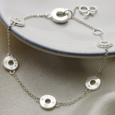 Ladies Sterling Silver Innes Bracelet